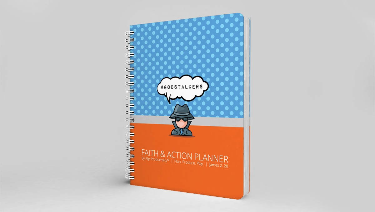 God Stalkers Faith and Action Planner