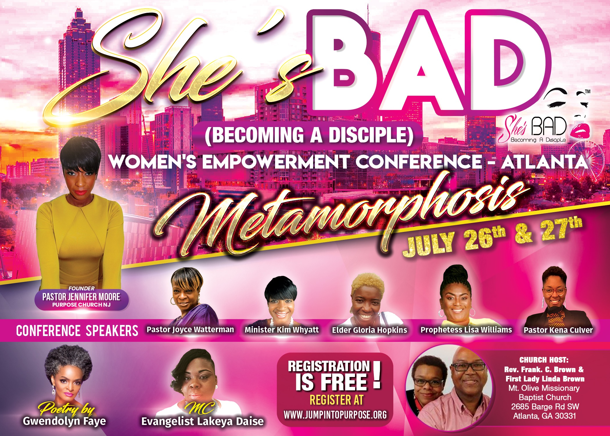 God Stalkers | She's B.A.D. Women's Empowerment Conference