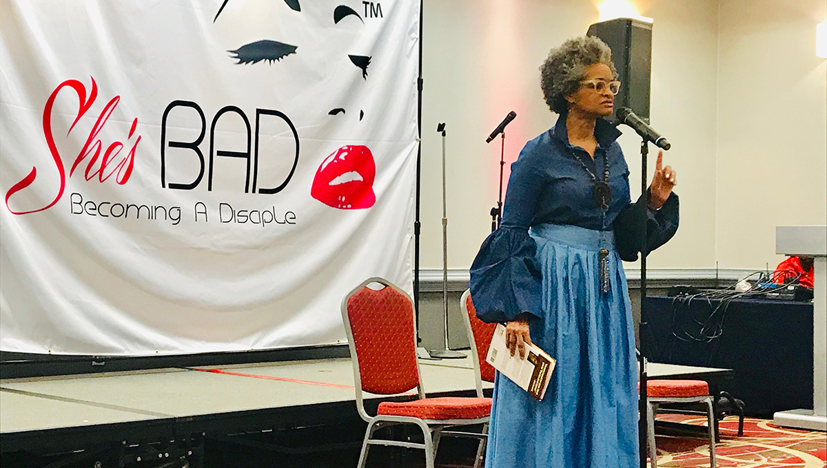 God Stalkers | Gwendolyn Faye, Poet, She's B.A.D. Conference